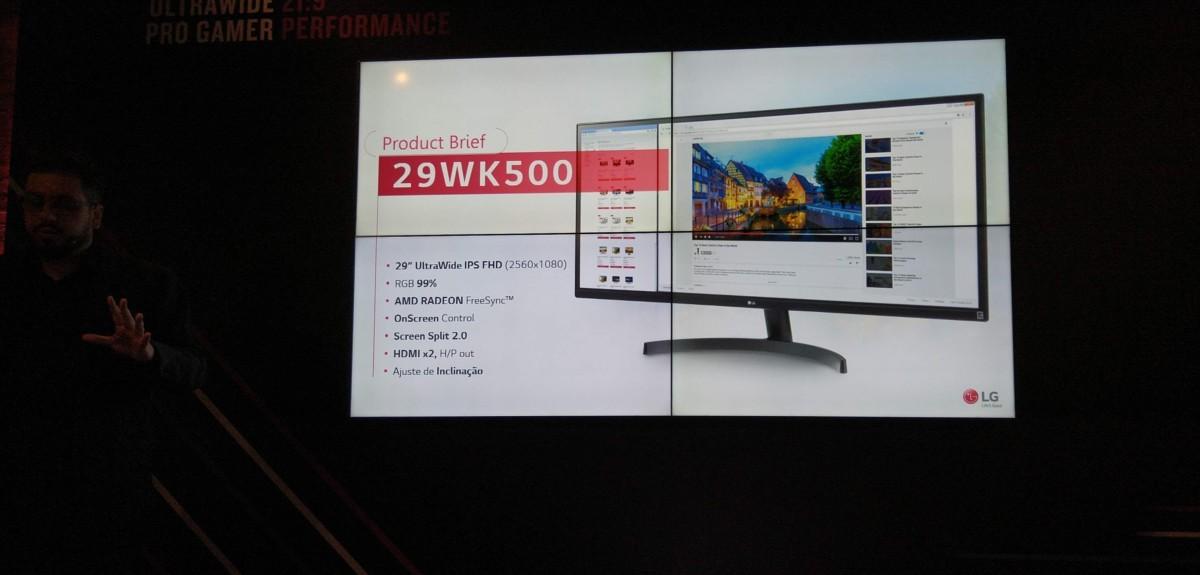Monitores 4K são destaques em nova linha lançada pela LG